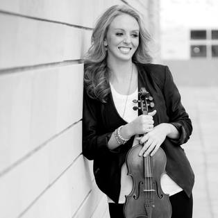 Samantha Stewart, violinist for the Sienna String Quartet
